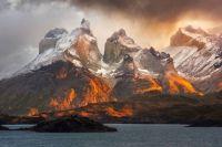 Torres del Paine National Park, Chile, Sunrise