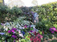 hidden garden art