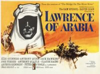 LAWRENCE OF ARABIA - 1962 POSTER
