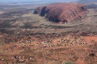 Uluru and Yulara Resort..
