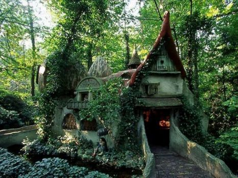 Forest House, Efteling, Holland