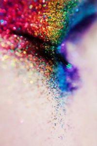 Rainbow Glitter Eye Shadow