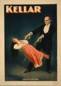 Kellar Levitation poster 1894