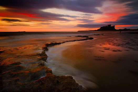 The Enernally Beautiful Bamburgh Castle...