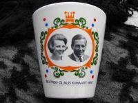 Beker 10 -3 -1966- Beatrix - Claus