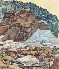 The Grindelwald Glacier - Ledovec Grindelwald - 1912