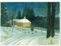 December Night--Old Stone Presbyterian Church