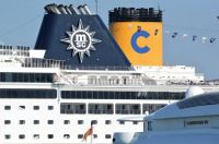 Costa and MSC Cruise Ships