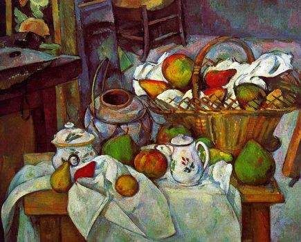 """""""Still Life With A Basket"""""""