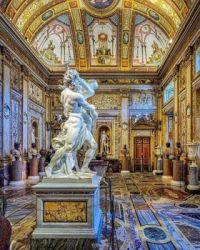 Villa Borghese is a landscape garden in Rome  5527