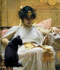 Cleopatra and Her Cat