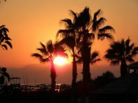 Zonsondergang in Turkije