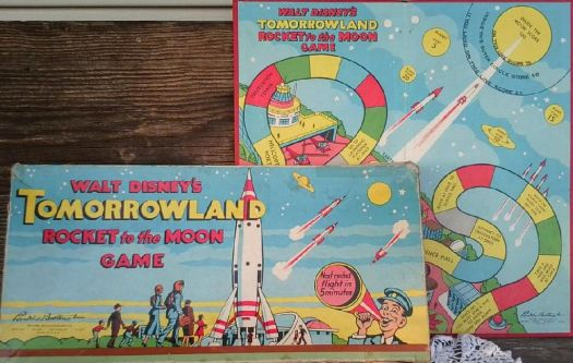 Vintage Game Board  ~  Tomorrowland