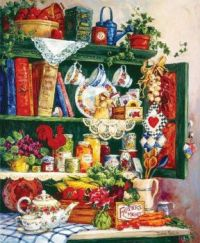 Grandma's Cupboard by Barbara Mock