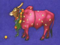 Purple Cow by Debbie Bell