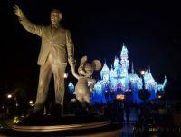 Night time at Disneyland