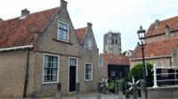 Old houses in Goedereede