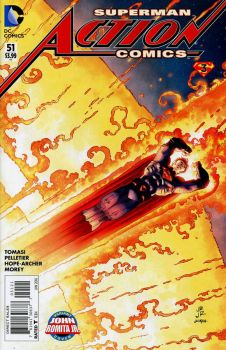 ACTION COMICS #51--VOLUME 2--JOHN ROMITA JR. COVER