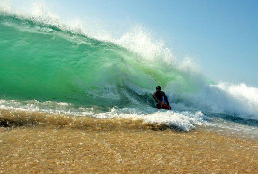 session shore break hossegor