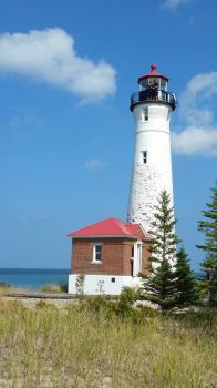 Crisp Point Lighthouse, Upper Michigan