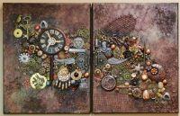 Steampunk Art on Canvas