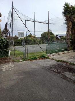 Sad Looking Tennis court