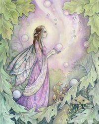 Fairy with orbs