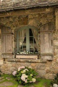 Rustic Cottage Window