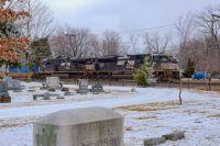 NS 1192 West at Goshen, Indiana. January 17, 2021