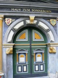 Door in Erfurt, Germany
