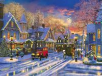 Winter scene....Back to the old days