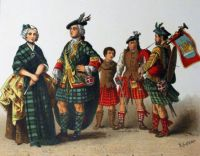 Scottish Dress in the 1700s