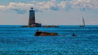The Whaleback lighthouse