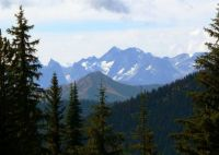 Cascade Mountains from Manning Park, B.C.  Canada