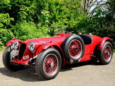 1939 - Aston Martin 2 litre speed