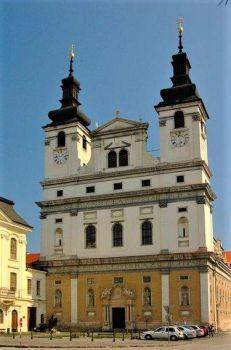 1629 Cathedral of St. John the Baptist in Trnava - Slovakia