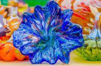 Blown Glass Flower & Friends