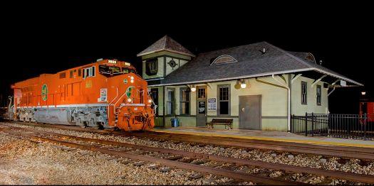 CN 3023 CN Railway GE ES44AC at Lapeer, Michigan by Stan Sienicki