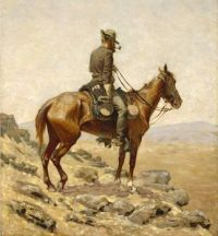 Frederic Remington (1861–1909), The Lookout