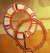 Oriental hoops.