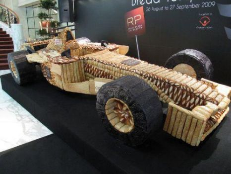 cake by Culinary Exe Formula One edible car
