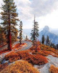 Glacier Point, Yosemite National Park,CA  6076