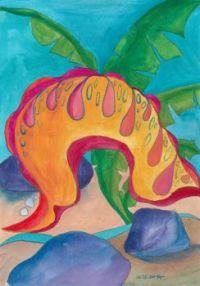 sea slug - medium size