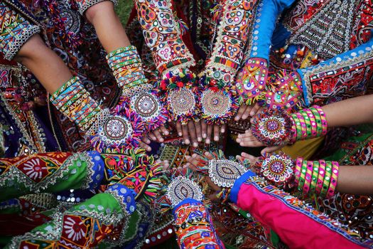 hands of India