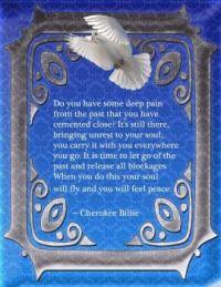 Cherokee Bible quote