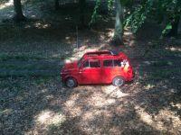 Fiat 500 Giardiniera, Geocaching. Get the TB-Code.