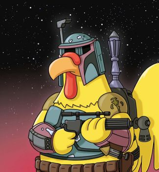Boba Fett Chicken