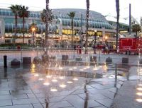 Downtown San Diego Fountain and Convention Center