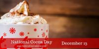 Today Is National Cocoa Day!!