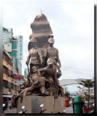 Monument in Naga